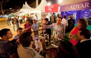 My husband and I were caught by The Daily Star photographer Mahmoud Kheir in this image from Vinifest 2012.
